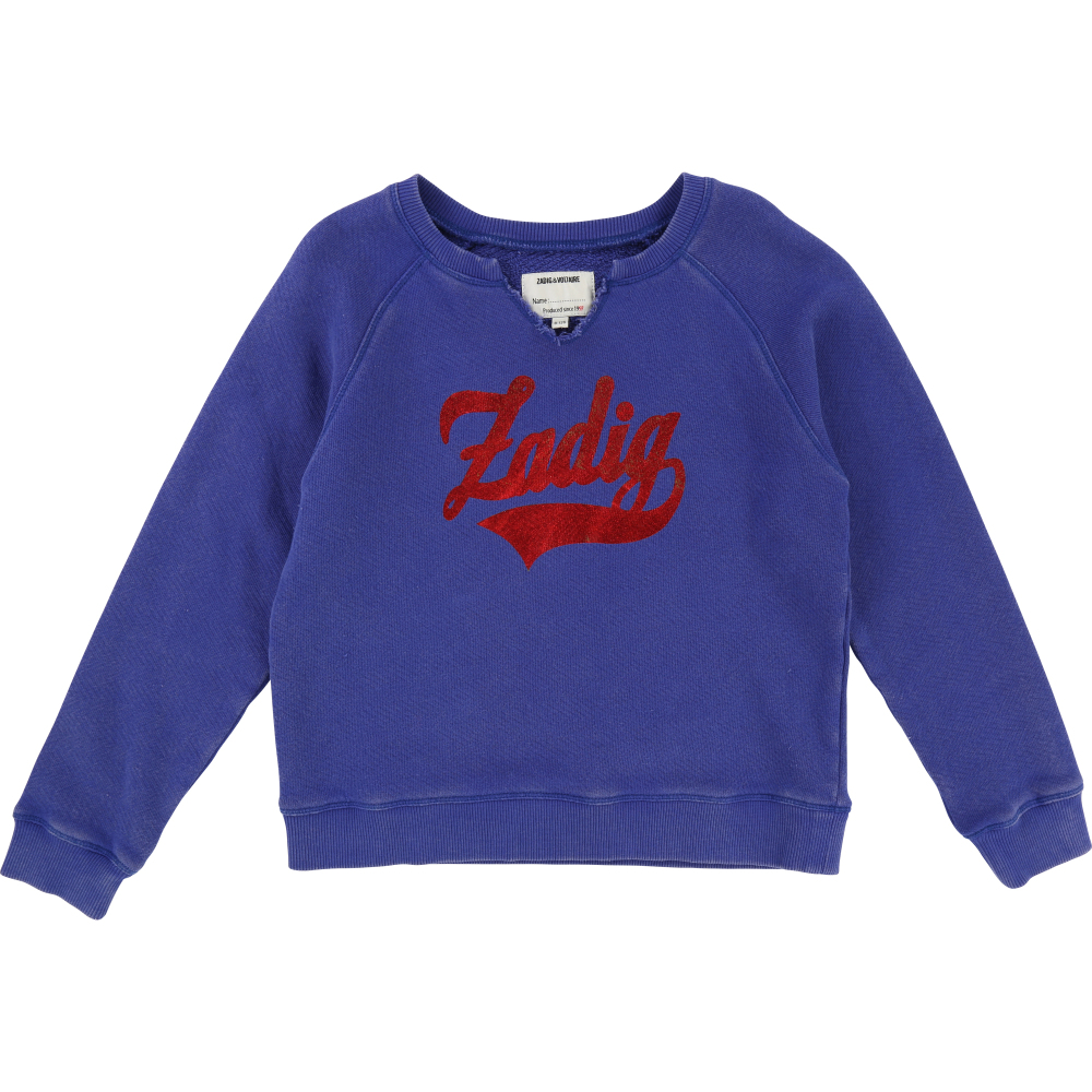 Collections Online Sale - Liberty Zigzag Sweatshirt - Zadig & Voltaire Zadig & Voltaire Outlet 100% Original XBl0f0p9O