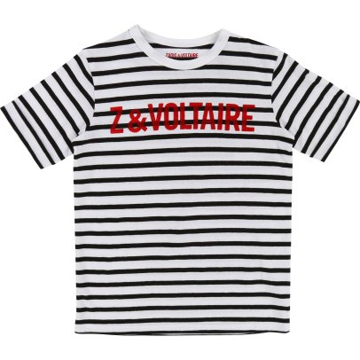 Zadig & Voltaire Jack Striped T-Shirt-listing