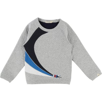 Billybandit Quilted Cyclish Sweatshirt-listing