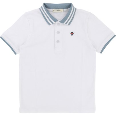 Billybandit Polo  Col Contrastant Pieuvre Brodée-product