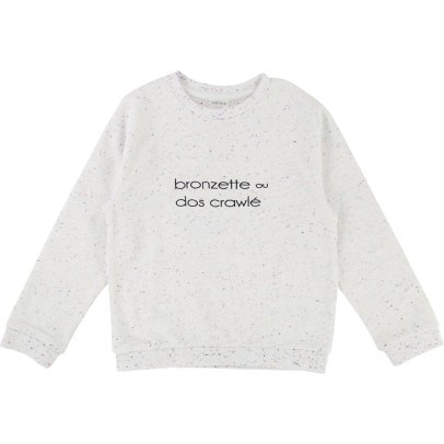 CARREMENT BEAU Flecked Sweatshirt-listing