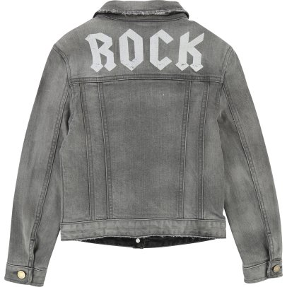 Zadig & Voltaire Alessandra Rock Back Denim Jacket-listing