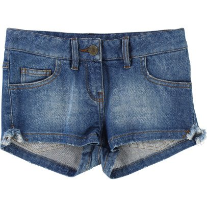 Zadig & Voltaire Adriana Contrasting Pocket Denim Shorts-listing