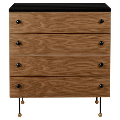 Gubi Oak 4 Drawer Chest, Greta M. Grossman, 1952-listing
