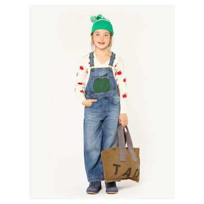 The Animals Observatory Miner Apple Denim Dungarees-listing