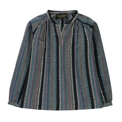 Finger in the nose Dillon Striped Full Blouse-listing