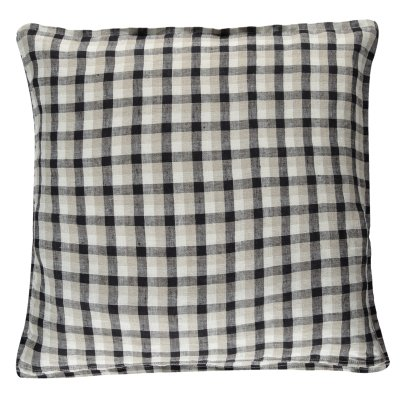 Linge Particulier Ecolier Washed Linen Cushion Cover-listing