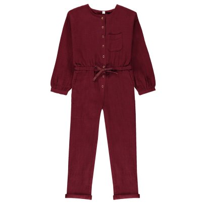Hundred Pieces Cotton Gauze Jumpsuit-listing