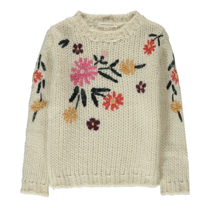 Hundred Pieces Flowers Jumper-listing
