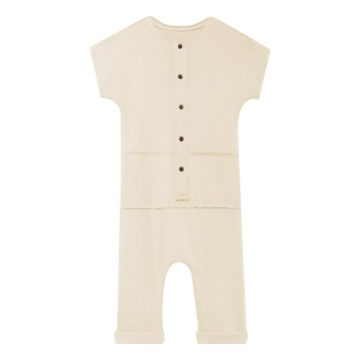 Little Creative Factory Ribbed Button Jumpsuit-listing