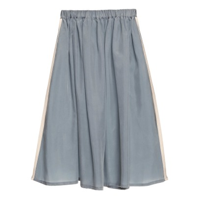Little Creative Factory Jazz Cupro Maxi Skirt - Women's Collection-listing