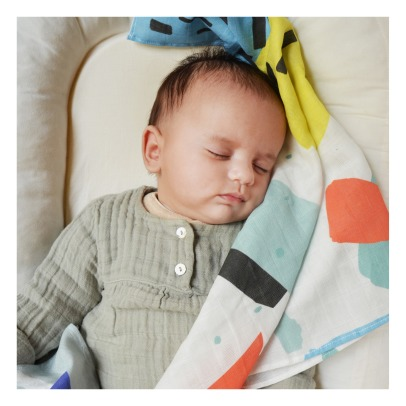 Shandor Camille Organic Cotton Swaddle 48x48cm-listing