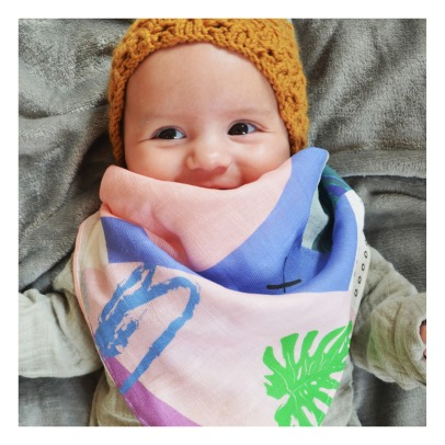 Shandor Louise Organic Cotton Swaddle 60x60cm-listing