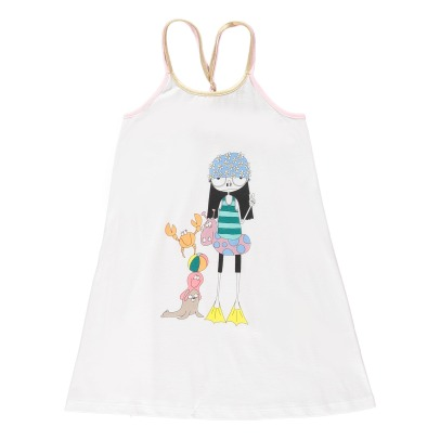 Little Marc Jacobs Miss Marc Beach Dress-listing
