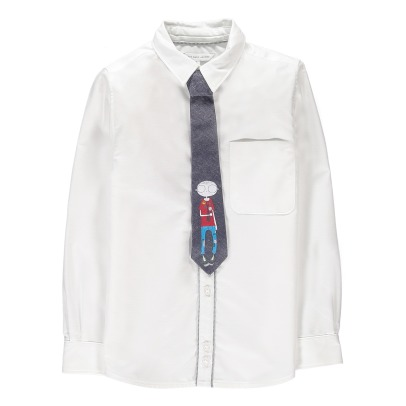 Little Marc Jacobs Mister Marc Oxford Shirt + Cravat-product