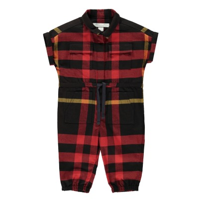 Burberry Flissan Belted Jumpsuit with Pockets-listing