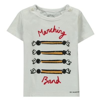 Burberry Camiseta Marching-listing