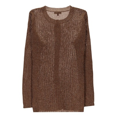Soeur Cardigan in lurex Down -listing
