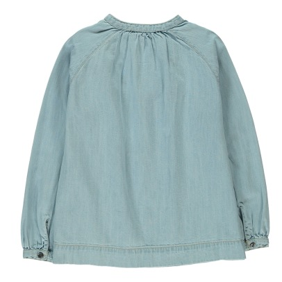 Finger in the nose Dillon Full Denim Blouse-listing
