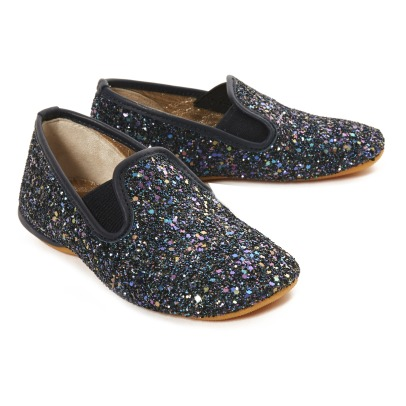 Gallucci Glitter Elasticated Slippers-listing