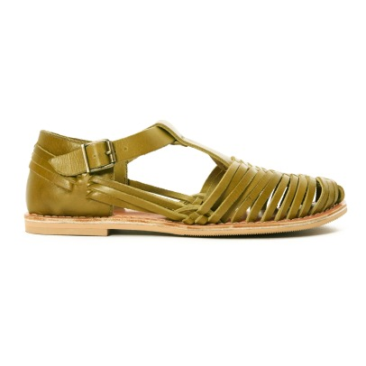 Clotaire x Smallable Anna Leather Sandals-listing