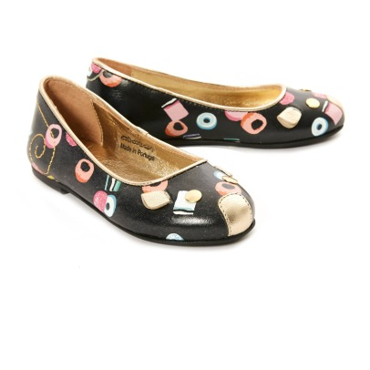 Little Marc Jacobs Liquorice Mouse Ballerinas-listing
