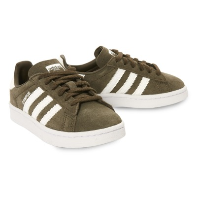 Adidas Campus Lace-Up Suede Trainers-listing