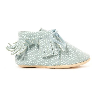 Easy Peasy Chaussons Moos Franges Meximoo-listing