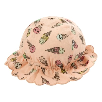Stella McCartney Kids Dolores Ice Cream Organic Cotton Bucket Hat-listing