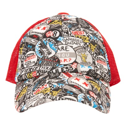 Little Marc Jacobs Gorra Graffiti Punk-listing