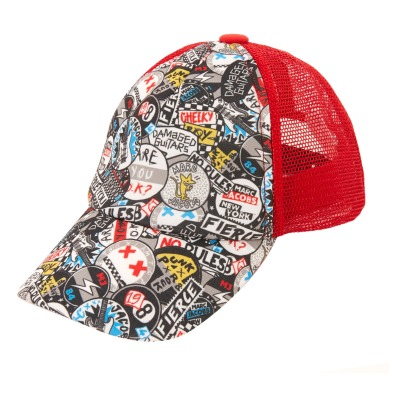 Little Marc Jacobs Graffiti Punk Cap-listing