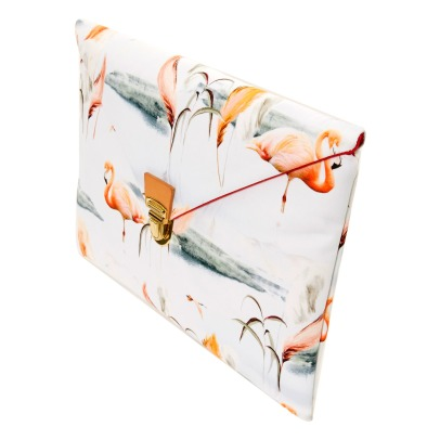 Maison Baluchon Pochette Ipad Flamants Roses-product