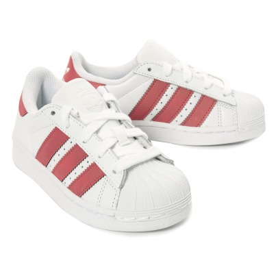 Adidas Baskets Cuir Lacets Superstar Irisées-listing