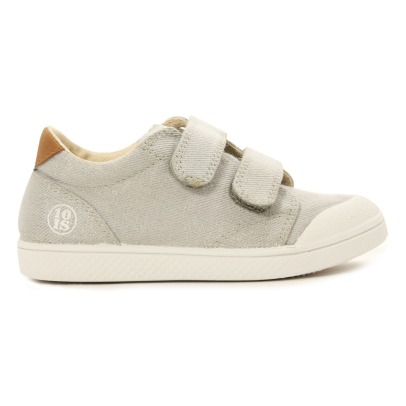 10 IS Glitter Velcro Low Top Trainers-listing