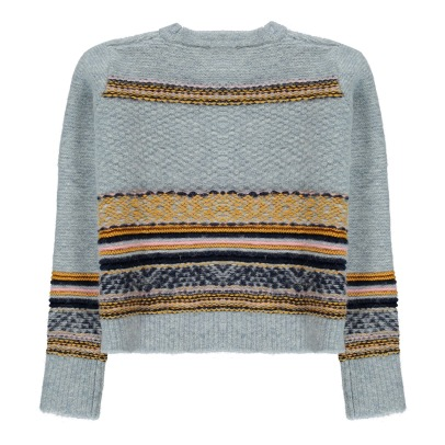 Sessun Chani Wool and Alpaca Jacquard Jumper-listing