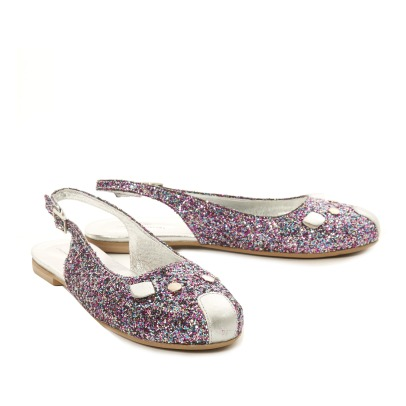 Little Marc Jacobs Sequin Mouse Ballerinas-product
