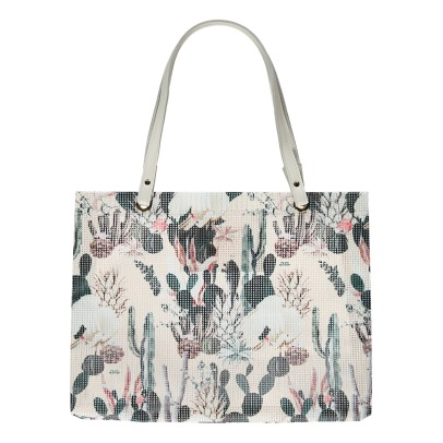 Maison Baluchon Shopping bag stampa Tropical -listing