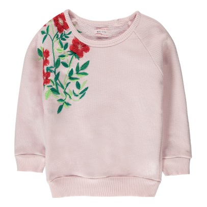 Morley Sweat Fleurs Brodées Bass-listing