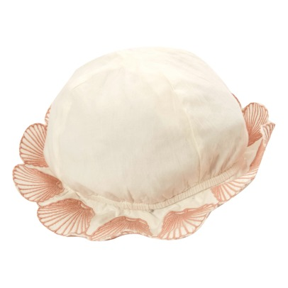 Stella McCartney Kids Dolores Embroidered Shell Organic Cotton Bucket Hat-listing