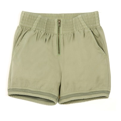 Stella McCartney Kids Shorts a vita alta in cotone bio Ariela-listing
