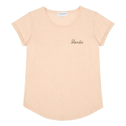 "Maison Labiche ""Blondie"" Embroidered T-Shirt - Women's Colllection-listing"