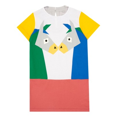 Stella McCartney Kids Marnie Donkey Organic Cotton Dress-listing