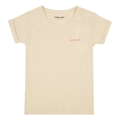 Maison Labiche Amour Embroidered T-Shirt-listing