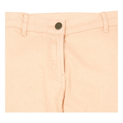 Stella McCartney Kids Ashton Dobby Spot Flared Jeans-listing
