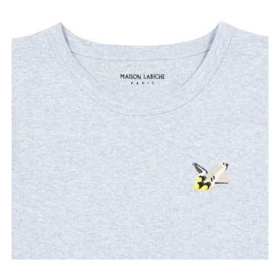Maison Labiche Rocket Embroidered T-Shirt-listing