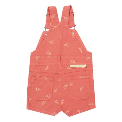 Stella McCartney Kids Chester Embroidered Ice Cream Dungarees-listing