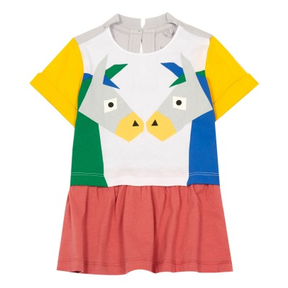 Stella McCartney Kids Jess Donkey Organic Cotton Dress-listing