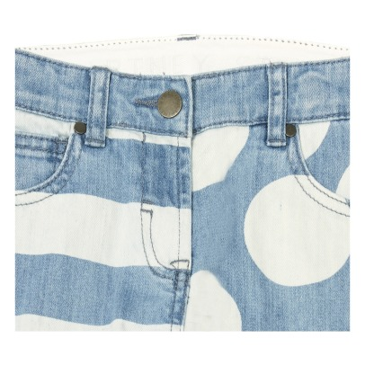 Stella McCartney Kids Lohan Dot Striped Jeans-listing