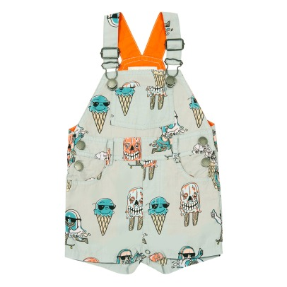 Stella McCartney Kids Chester Monster Ice Cream Dungarees-listing
