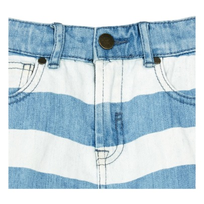 Stella McCartney Kids Blake Striped Shorts-listing